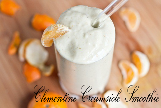 Clementine Creamsicle Smoothie