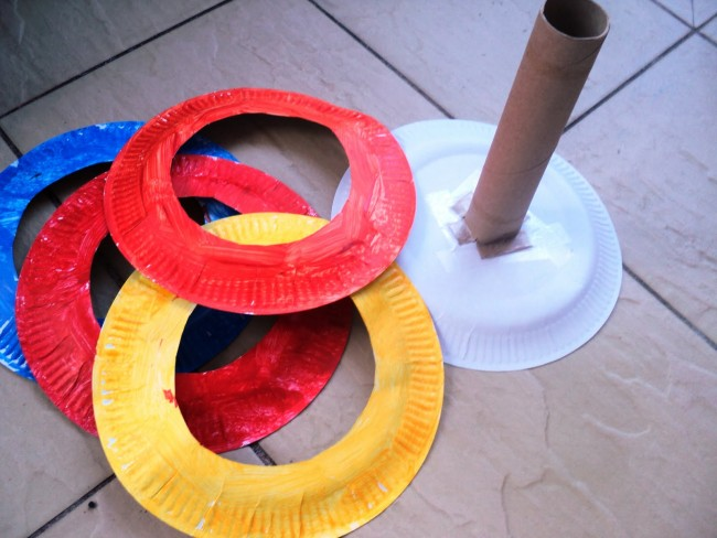 plate ring toss