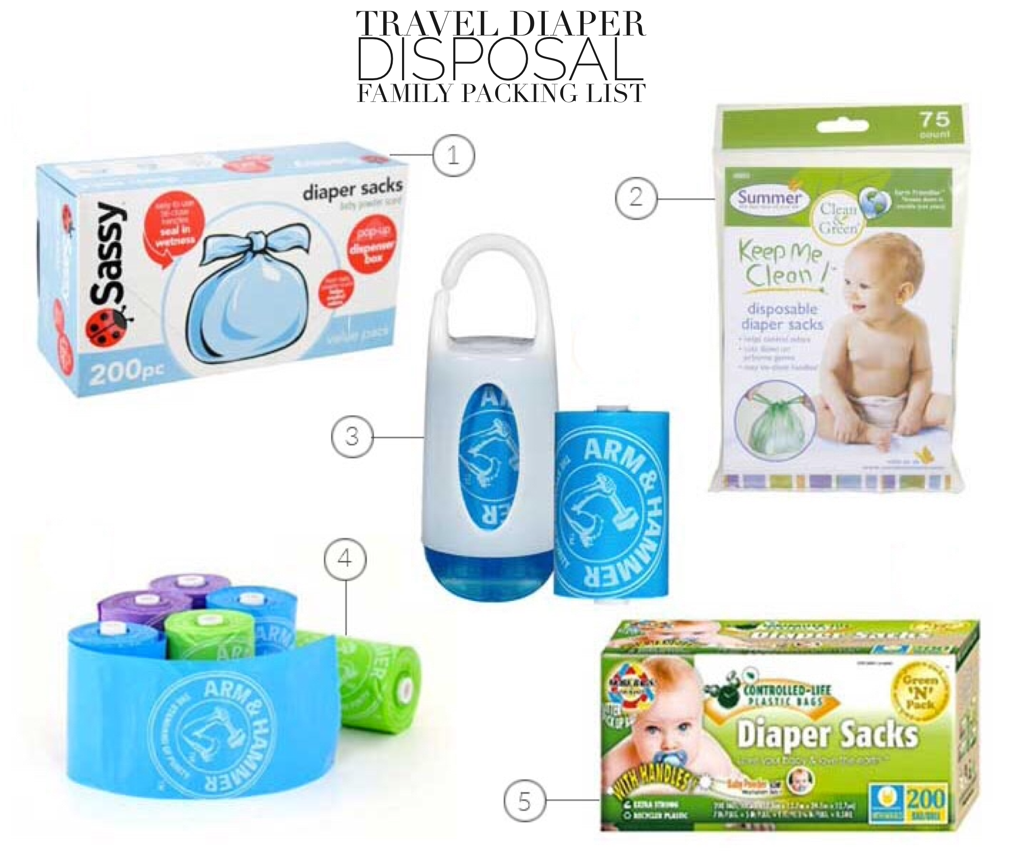 Tablet Family Ng List 1 Sassy Baby Disposable Diaper Sacks