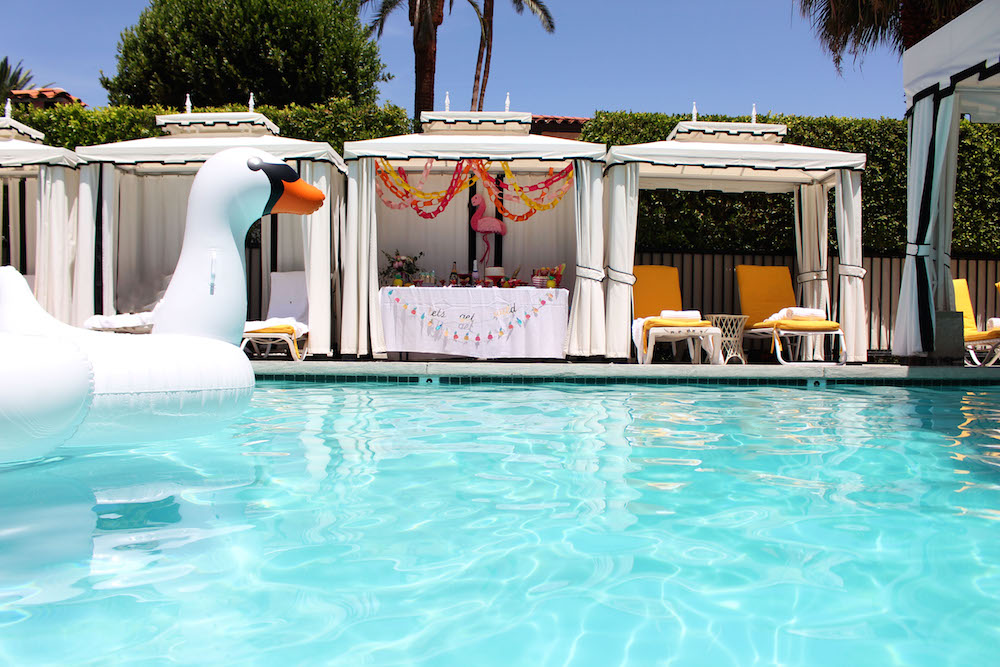 Avalon Palm Springs Bachelorette Party