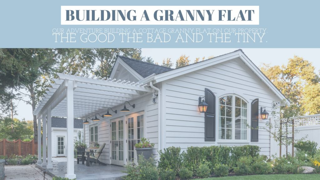 Building a granny flat in california