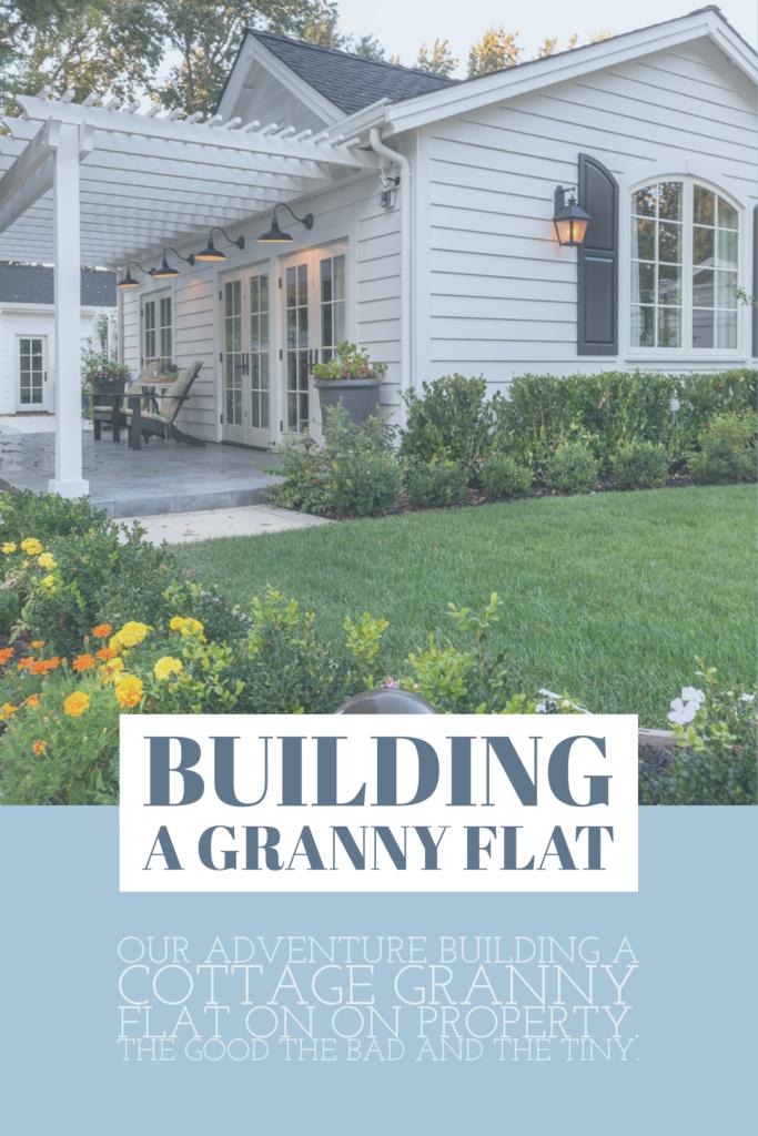 building a Granny flat adu California